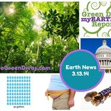 Earth News for the week of 3.10.14