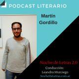 Noche de Letras #97, Martín Gordillo