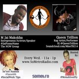 MidWeek MashUp hosted by @MokahSoulFly Show 21 Jun 15 2016 Guests @JaiFunnyName and Queen Trillion
