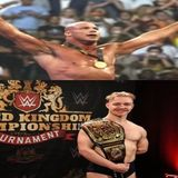 Kurt Angle into the WWEHOF and 1st UK Champion