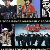 A TODA BANDA MARIACHI Y ACORDEÓN Mexican Music