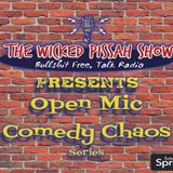 LIVE Show #121 - Open Mic Comedy Chaos #1
