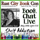 Ep 15: Author Interview with Alexandria Sure | Book Chat LIVE