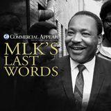 MLK's Last Words