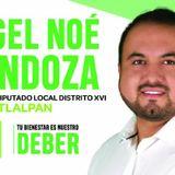 Ángel Noé Mendoza Distrito 16 Por Tlalpan