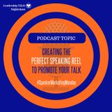 Marketing - Creating the Perfect Speaking Reel to Promote Your Talk | Lakeisha McKnight