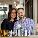 123 Jeanette and Alex Ruiz | Veganism, Podcasting and Entrepreneurship as a Married Couple