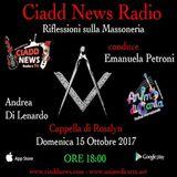 N° 28 – RIFL. SULLA MASSONERIA – conduce Emanuela Petroni – Ospiti: – Andrea Di Lenardo - Cappella di Rosslyn