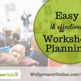 {e66} Easy and Effective Workshop Planning