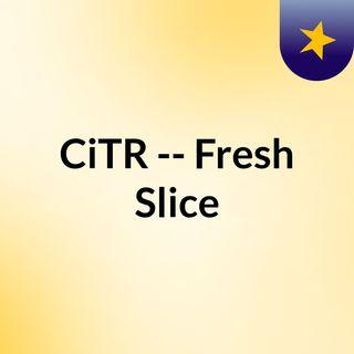 CiTR -- Fresh Slice