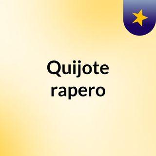 Quijote rapero