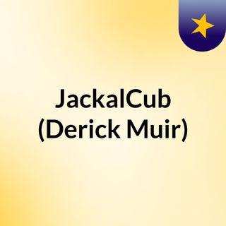 jackal cub on a roll