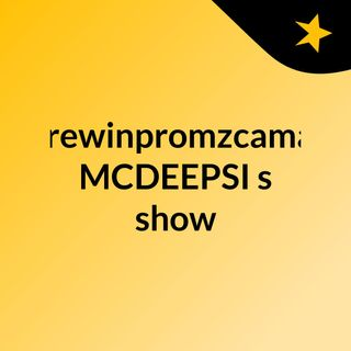 andrewinpromzcamanni #MCDEEPSI's show