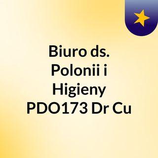 Biuro ds. Polonii i Higieny PDO173 Dr Cu