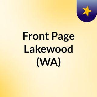 Front Page Lakewood (WA)