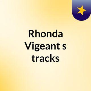 Rhonda Vigeant's tracks