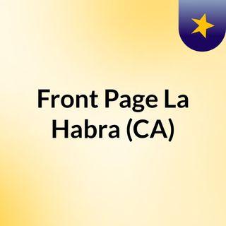 Front Page La Habra (CA)