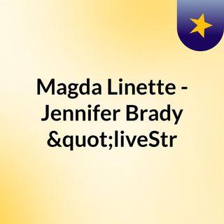 """Magda Linette - Jennifer Brady """"liveStr"""