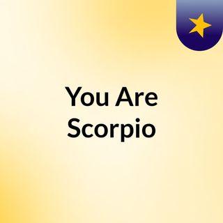Scorpio (May 13 2021)
