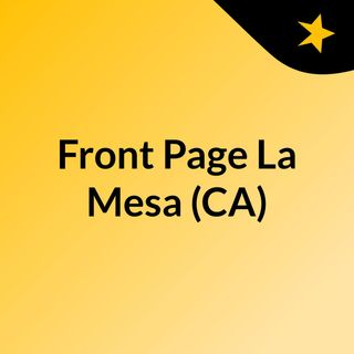 Front Page La Mesa (CA)