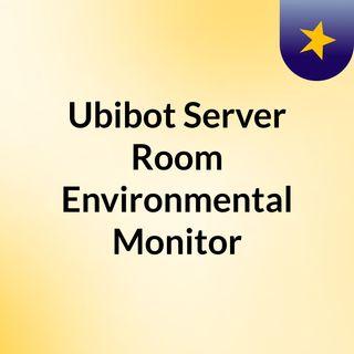 IoT based Environmental Monitoring Equipment - UbiBot