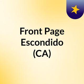 Front Page Escondido (CA)