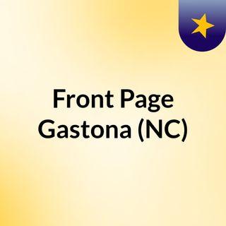 Front Page Gastona (NC)