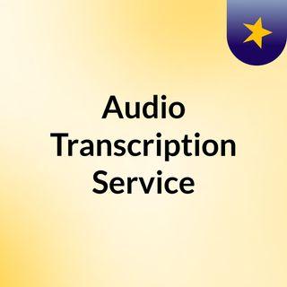Audio Transription Services offered by SunTec.AI