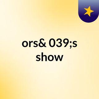 Oms // Bendero // Officiel