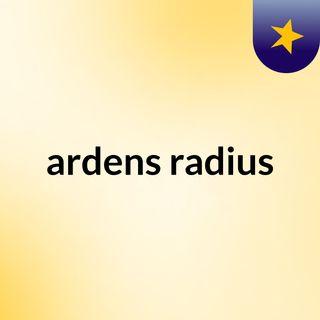 Ardens Radius
