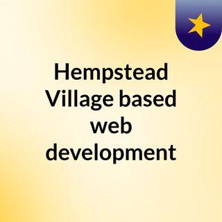 Hempstead Village based web development services