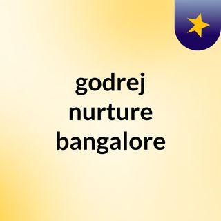 godrej nurture bangalore