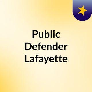 Public Defender Lafayette