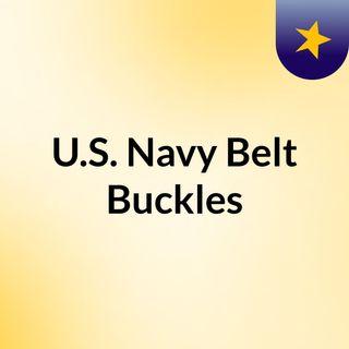 US Navy Belt Buckles