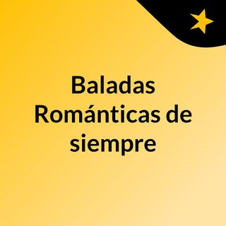 Baladas Románticas 1