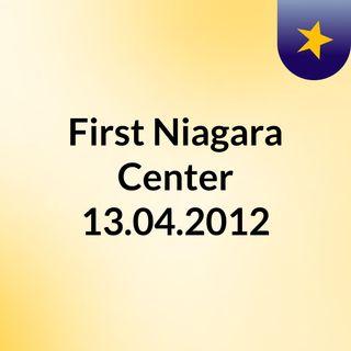 First Niagara Center 13.04.2012