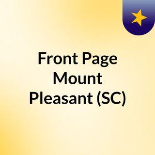 Front Page Mount Pleasant (SC)