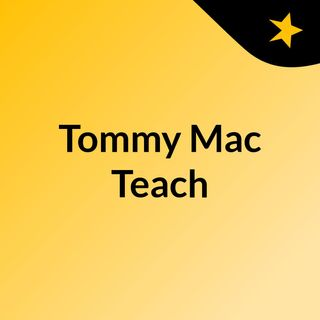 Episode 1 - TommyMacTeach - BeUMinistry