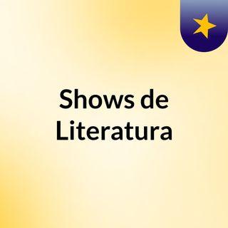Shows de Literatura