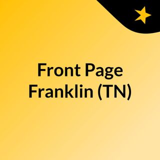 Front Page Franklin (TN)