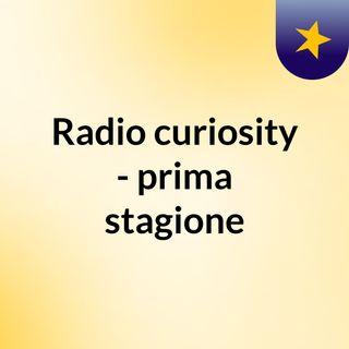 Radio Curiosity - Sesta puntata