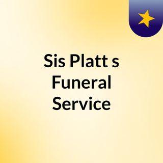 Sis Platt's Funeral Service
