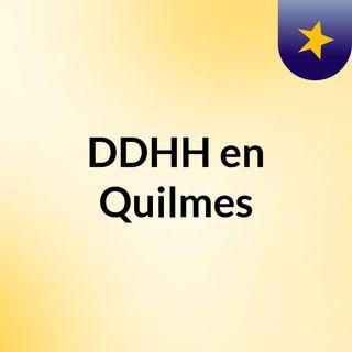 Derechos Humanos en Quilmes