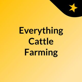 Everything Cattle Farming