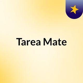 Tarea Mate