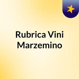 Rubrica Vini: Marzemino