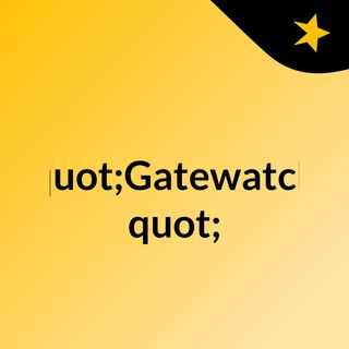 """Gatewatch"" A MTG Podcast"