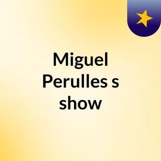 Miguel Perulles's show