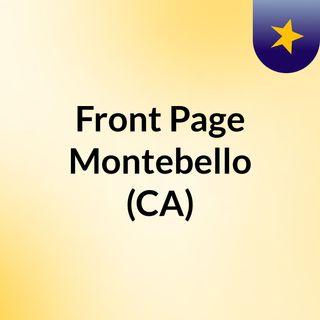 Front Page Montebello (CA)