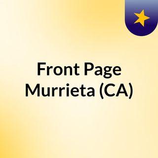 Front Page Murrieta (CA)